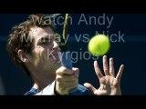 watch aussie Andy Murray vs Nick Kyrgios live tennis