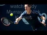 watch Andy Murray vs Nick Kyrgios live tennis stream