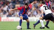 Los goles de Juan Román Riquelme con el FC Barcelona