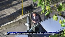 Grèce: Syriza va gouverner avec les Grecs indépendants
