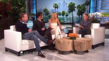 Johnny Depp Gwyneth Paltrow and Paul Bettany meet Ellen -Never Have I Ever