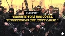 #Stopdjihadisme : Ils te disent que tu défendras une noble cause…