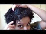 Wash n Go Using Curls Unleashed Curl Defining Creme & Diffusing