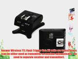 NEEWER? FC-210C Wireless TTL Flash Trigger Set For Canon 5D Mark II 5D Mark III 1Ds Mark III