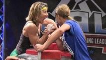 Ultimate Armwrestling League Ladies 140 Under Crhis Vs Michelle