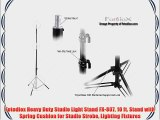 Fotodiox Heavy Duty Studio Light Stand FX-807 10 ft. Stand with Spring Cushion for Studio Strobe