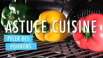 Peler facilement des poivrons - Cuisine Facile