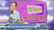 Bill Nye 'The Science Guy' Reacts to Bill Belichick's Scandal 2015
