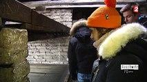 Des lycéens visitent le camp d'extermination d'Auschwitz-Birkenau