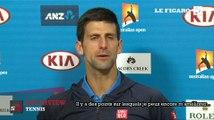 Open d'Australie : Novak Djokovic qualifié pour les quarts de finale