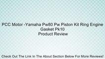 YAMAHA 1983-2006  PW80 PW 80 CYLINDER HEAD PISTON GASKET KIT H CK04