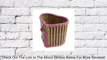 Heart Style Babmoo Metal Thread Lacing Storage Basket Holder Review