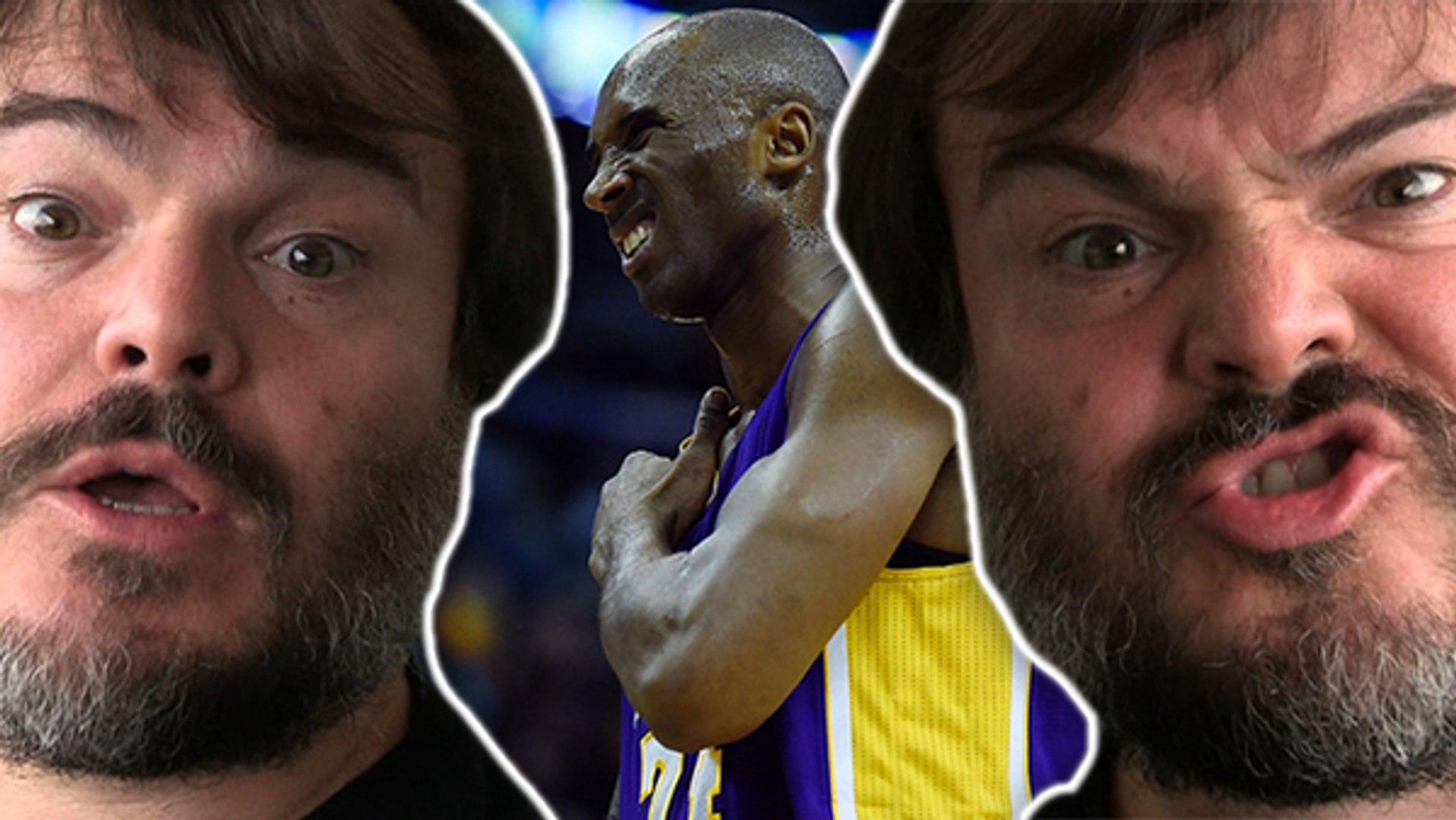 Jack Black Flips Out Over Kobe Bryant's Injury