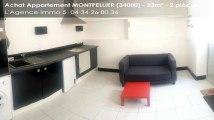 A vendre - appartement - MONTPELLIER (34000) - 2 pièces - 23m²
