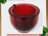 SWE Wonder Planter Self-Watering Planter Red