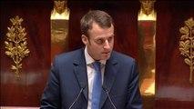 """Emmanuel Macron : """"Le gouvernement a pris ses responsabilités"""""""