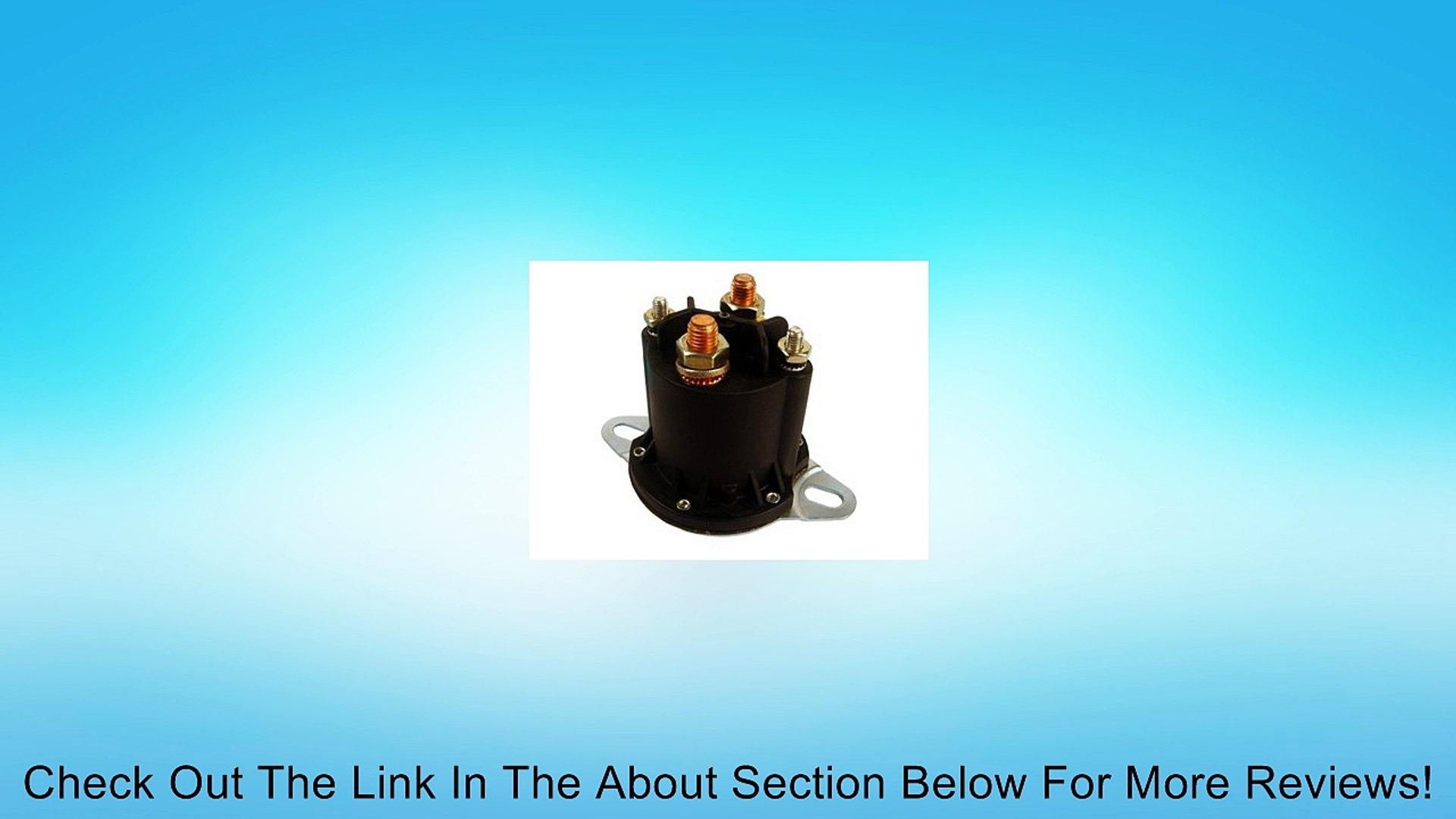 Starter Solenoid for Meyer /& Western Snow Plow /& Hydraulic Pump Motor Crank-n-Charge SSMU-1026