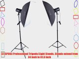 Square Perfect 1002 Sp160 Variable Power Professional Studio Flash Set Photography Studio Kit