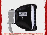Airbox Lights 450024 Mini Softbox with Eggcrate (Black)