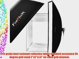 Fotodiox Flash-1280-Kit-Ca 12 x 80 Inches Softbox with Soft Diffuser and Speedring Bracket