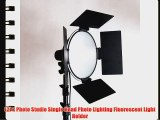 LimoStudio Photography Studio Continuous Lighting Light Kit Photo Umbrella Barndoor Light AGG950