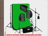 ePhoto 3 x Premium HoneyComb Softbox Photography Studio Video Lighting Kit Boom Stand Hair