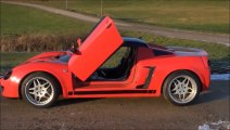 gull-wing doors for vauxhall VX220 opel speedster level 3.0