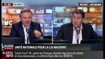 Brunet & Neumann : Faut-il l'unité nationale pour la loi Macron? - 27/01