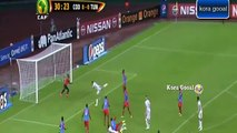 Tunisie vs RD Congo 1-1 tous buts complet 2015