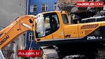 Şehrin Göbeğinde Faciaya Ramak Kaldı