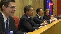 Devant les sénateurs UMP, Sarkozy appelle à tourner la page de l'union nationale