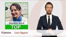 Le Top Flop: Ségolène Royal ministre de l'année / Julien Dray piégé par Bruce Toussaint