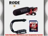 Rode Mic For Nikon D800 D600 D7000 D300 D200 D100 D90 - Rode VideoMic w/ Rycote Lyre Suspension