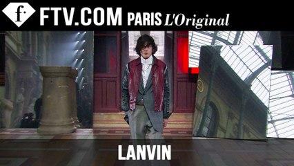 Lanvin Men Fall/Winter 2015-16 | Paris Men's Fashion Week | FashionTV