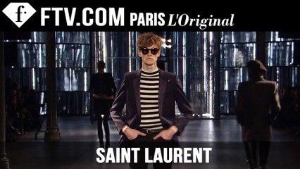Saint Laurent Men Fall/Winter 2015-16 | Paris Men's Fashion Week | FashionTV