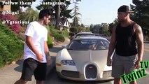 Gold Digger Prank - Picking Up Women with a Bugatti - Picking Up Girls - Funny Pranks - Pranks 2014