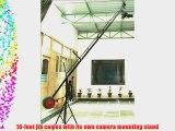 PROAIM Video Production 18-Foot (14feet/10feet) Jib Arm with Jib Stand for cameras upto 15lbs