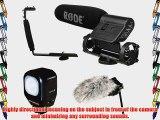 Rode VideoMic Directional On-Camera Condenser Shotgun Microphone with Deadcat Windshield Polaroid