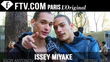 Issey Miyake Men Designer's Inspiration | Paris Men's Fashion Week Fall 2015-16 | FashionTV
