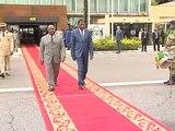Départ du Président béninois Thomas Boni Yayi de Libreville