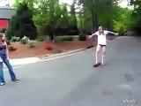 SKATE BOARD CRASH