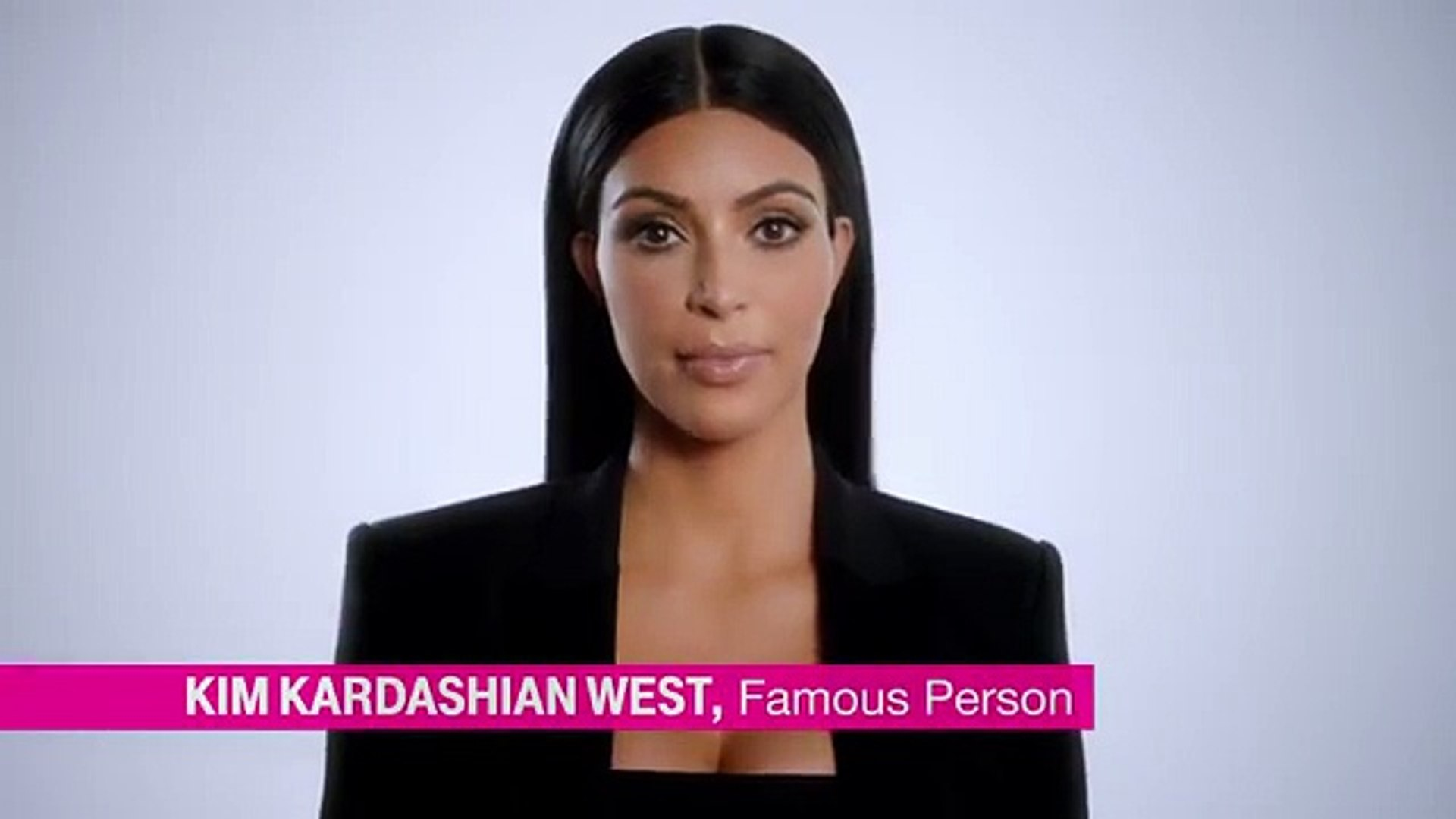 Kim Kardashian Superbowl advert #KimsDataStash T Mobile Commercial