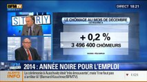 BFM Story: Mauvais chiffres du chômage (1/2): 2014 est une année noire pour l'emploi - 27/01