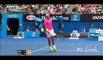 Tomas Berdych vs Rafael Nadal ~ Highlights QF -- Australian Open 2015
