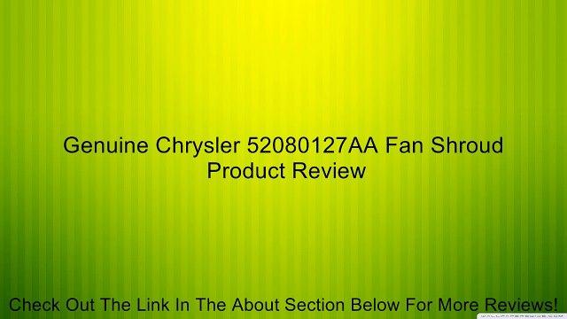 Genuine Chrysler 52028994AC Fan Clutch