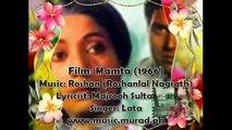 Violin Instrumetal Rahen Na Rahen Hum Mehka Mamta 1966 Lata Roshan Majrooh Sultanpuri