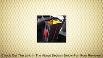 Auto Litter Bag - THE ORIGINAL Car Trash Bag By CarScaper - Auto Litter Container and Organizer - Keep Your Car Neat and Clean - Stylish and Durable Black Cloth Exterior - Wipe Clean Interior - Mesh Side Pockets to Hold Phone or Tissues - Snap Shut Top -