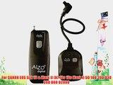Alzo Wireless Radio Shutter Release 300-feet range for CANON EOS Cameras