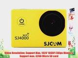 Original SJCAM SJ4000 WIFI Action Camera Sports DVR Water Resistant 30M Outdoor Camcorder Helmet