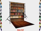 PRINTED books PHOTOGRAPHY BACKGROUND AND FLOOR DROP BACKDROP COMBO COMBO106 BOTH ITEMS a 5'x6'